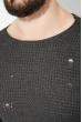 Джемпер мужской в стиле Casual 48P3231 темно-серый