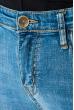 Джинсы мужские c распущенными краями 106V001 светло-синий