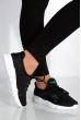 Кроссовки женские 11PW1 черно-белый