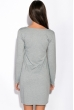 Платье 110P402-2 серый меланж