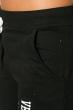 Брюки женские спортивные однотонные 360F005-2 черный