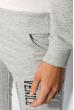 Брюки женские спортивные однотонные 360F005-2 светло-серый