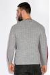 Пуловер 521F002 светло-серый