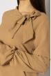 Кокетливое мини платье 640F005 бежевый
