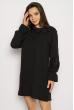 Кокетливое мини платье 640F005 черный