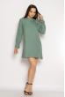Кокетливое мини платье 640F005 мятный