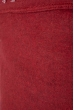Джемпер с текстовым принтом 11P230 на флисе вишневый