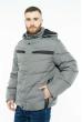 Куртка 157P131104 серо-черный