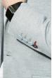 Пиджак мужской светлые оттенки 409F002 серо-голубой