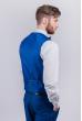 Жилет мужской под костюм мужской №276F022 синий