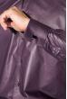 Рубашка мужская c запонками 50PD0020 черно-сиреневый