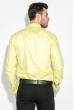 Рубашка мужская c запонками 50PD0020 салатовый
