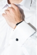 Рубашка мужская c запонками 50PD0020 белый