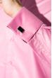 Рубашка мужская c запонками 50PD0020 светло-фиолетовый