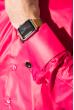 Рубашка мужская c запонками 50PD0020 фуксия