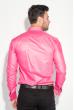 Рубашка мужская c запонками 50PD0020 малиновый