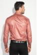 Рубашка мужская c запонками 50PD0020 коричневый