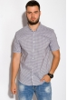 Рубашка 511F052 серый