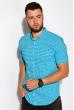 Рубашка 511F052 ярко-голубой