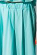 Костюм (топ на бретелях и юбка миди) 120PVC224 светло-бирюзовый
