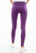 Лосины с леопардовым принтом 11PB70114 фиолетовый