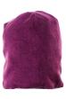 Шапка женская со стразами 65PF10-12 темно-фиолетовый