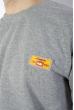 Костюм спортивный мужской 85F1002 светло-серый
