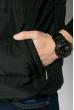 Жилетка на синтепоне мужская 70P009 черный