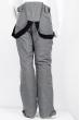 Брюки горонолыжные 120PMH8601 junior серый меланж