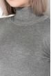 Гольф женский приятный к телу 621K003 серый