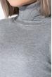 Гольф женский приятный к телу 621K003 светло-серый