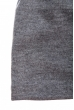 Шапка однотонная, на флисе 65P0033 серый меланж