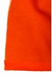 Шапка однотонная, на флисе 65P0033 оранж