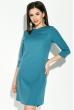 Платье женское с кружевной спинкой 95P8019 джинс