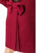 Платье женское с кружевной спинкой 95P8019 бордо
