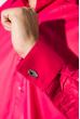 Рубашка мужская с контрастными запонками 50PD0060 фуксия