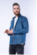 Рубашка джинсовая с декоративными строчками 644f127 светло-синий