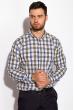 Рубашка 511F035 песочно-синий