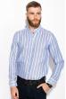 Рубашка 111P045 молочно-голубой