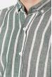 Рубашка 111P045 молочно-зеленый