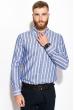 Рубашка 111P045 молочно-синий