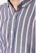 Рубашка 111P045 молочно-чернильный