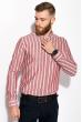 Рубашка 111P045 молочно-бордовый