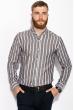 Рубашка 111P045 молочно-черный