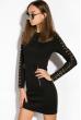 Платье 110P018 черный