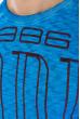 Свитшот мужской  32P058 голубой варенка