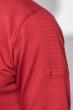 Кофта мужская с капюшоном 423F001-1 бордо