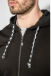 Кофта мужская с капюшоном 423F001-1 черный