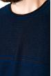 Джемпер в стиле Casual 520F019 индиго-черный