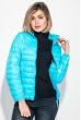 Куртка женская демисезонная, на молнии 191V004 голубой